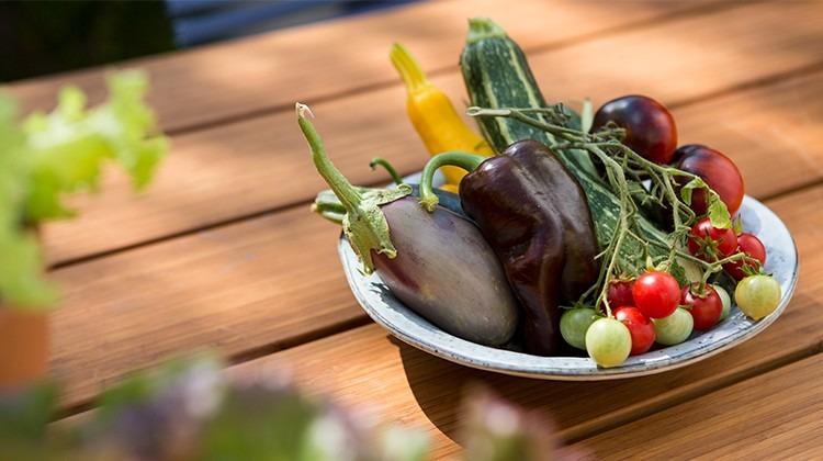 Gemüse in einer Schüssel