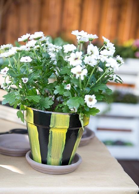 Diy Blumentopfe Gartengeheimnis At
