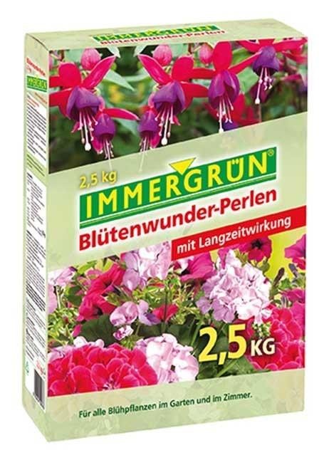 Immergrün Blütenwunder-Perlen Packung 2,5 kg